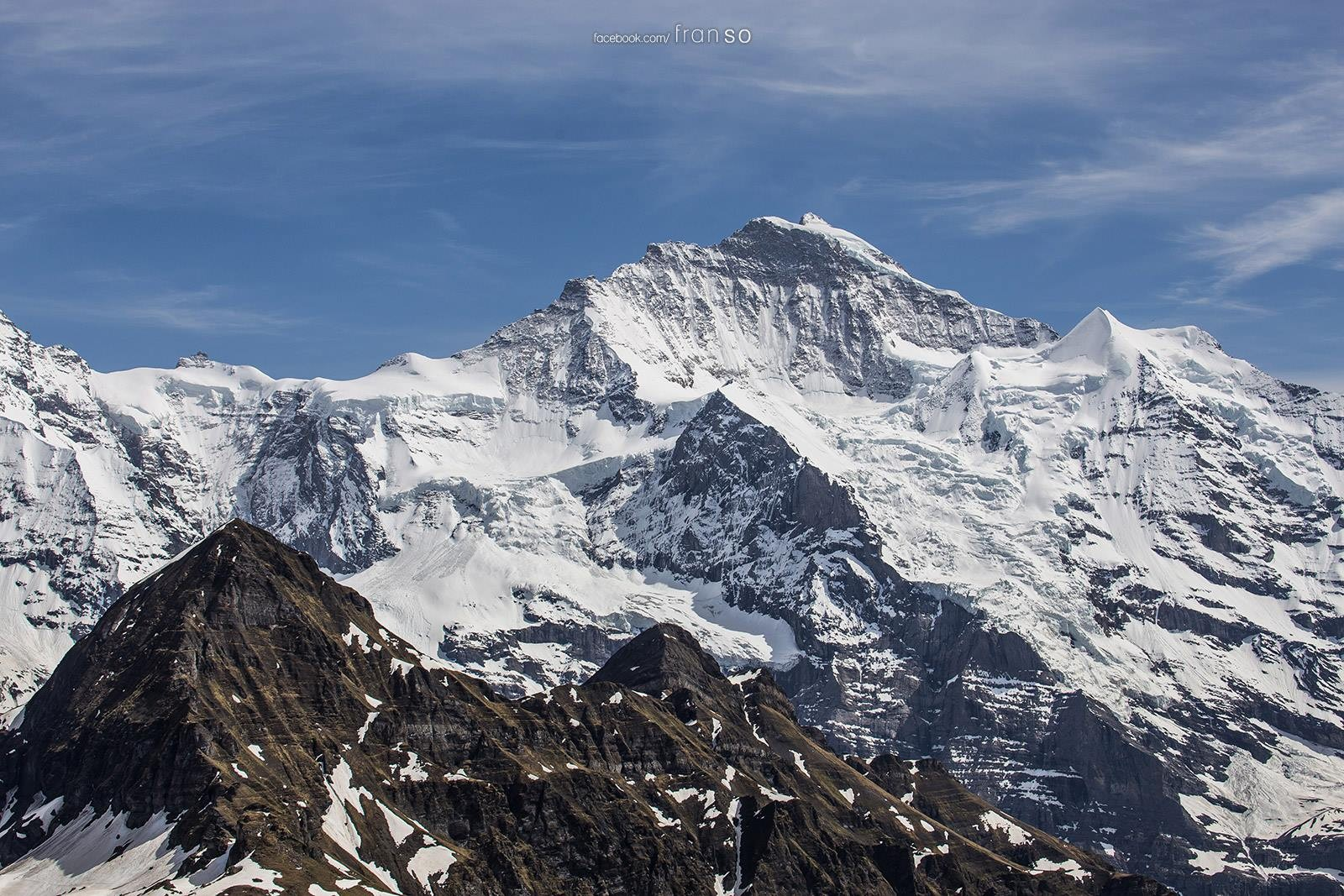Landscape | Switzerland | Jungfra  | And the Sphinx on Jungfrajoch