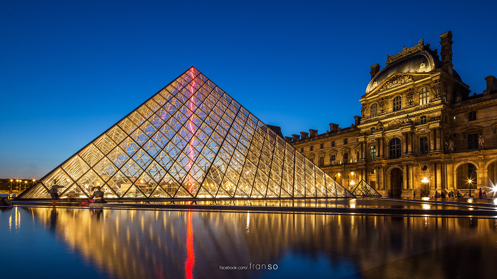 Cityscape | Oversea | Musée du Louvre  | After Sunset