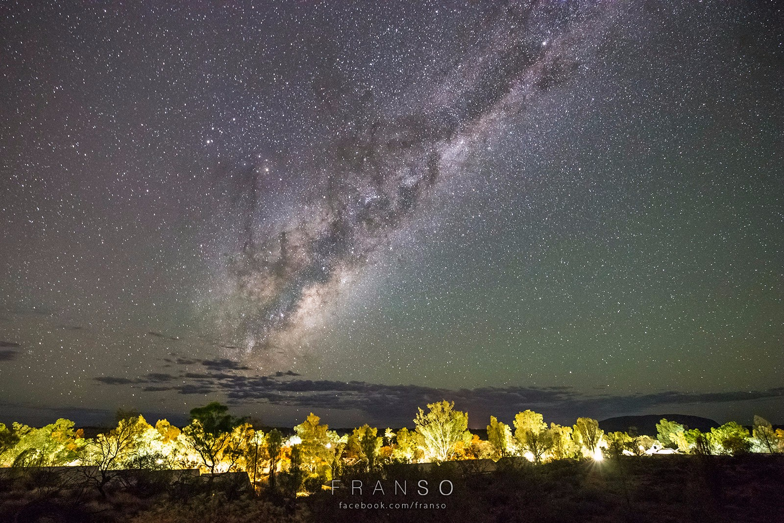 Starscape and Milkyway |  | Milkyway | The Milkyway rise at the East