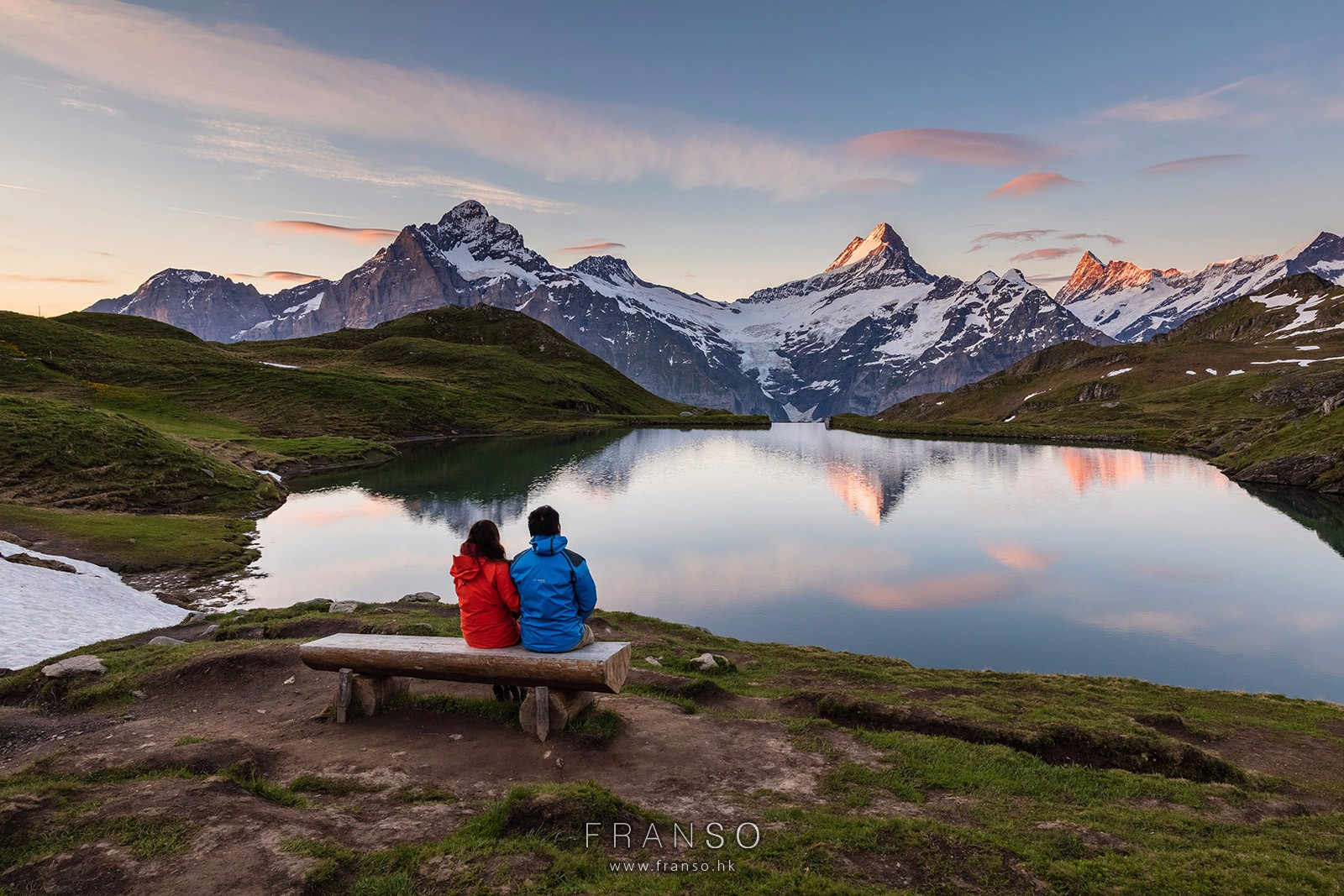 Landscape |  | Enjoy the Dawn | Bachalpsee, Berner Oberland, Switzerland