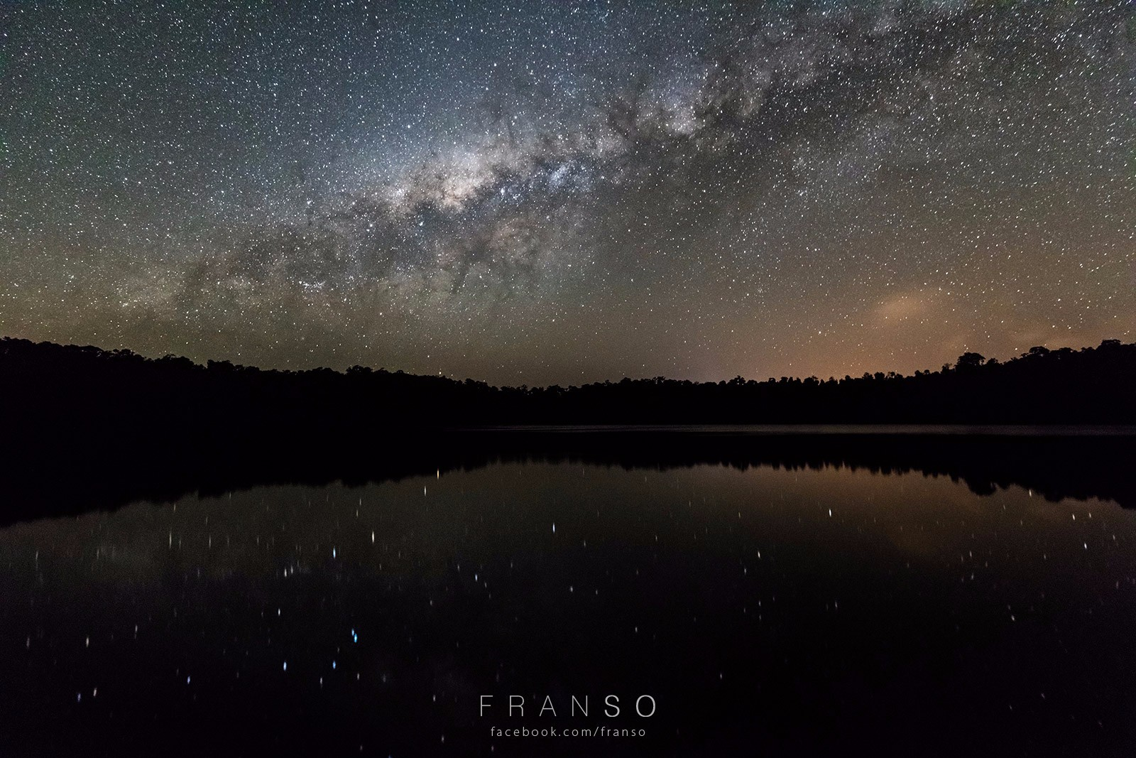Starscape and Milkyway |  | Reflection and the Stars | Lake Eacham