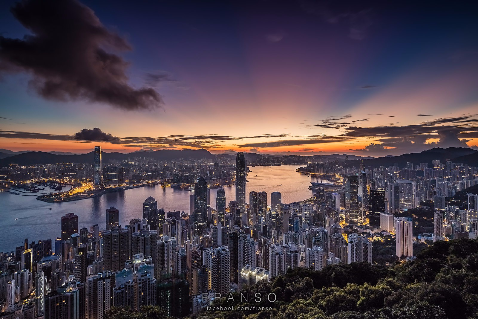 Cityscape | Hong Kong | Good Morning HK | Lugard Road, The Peak