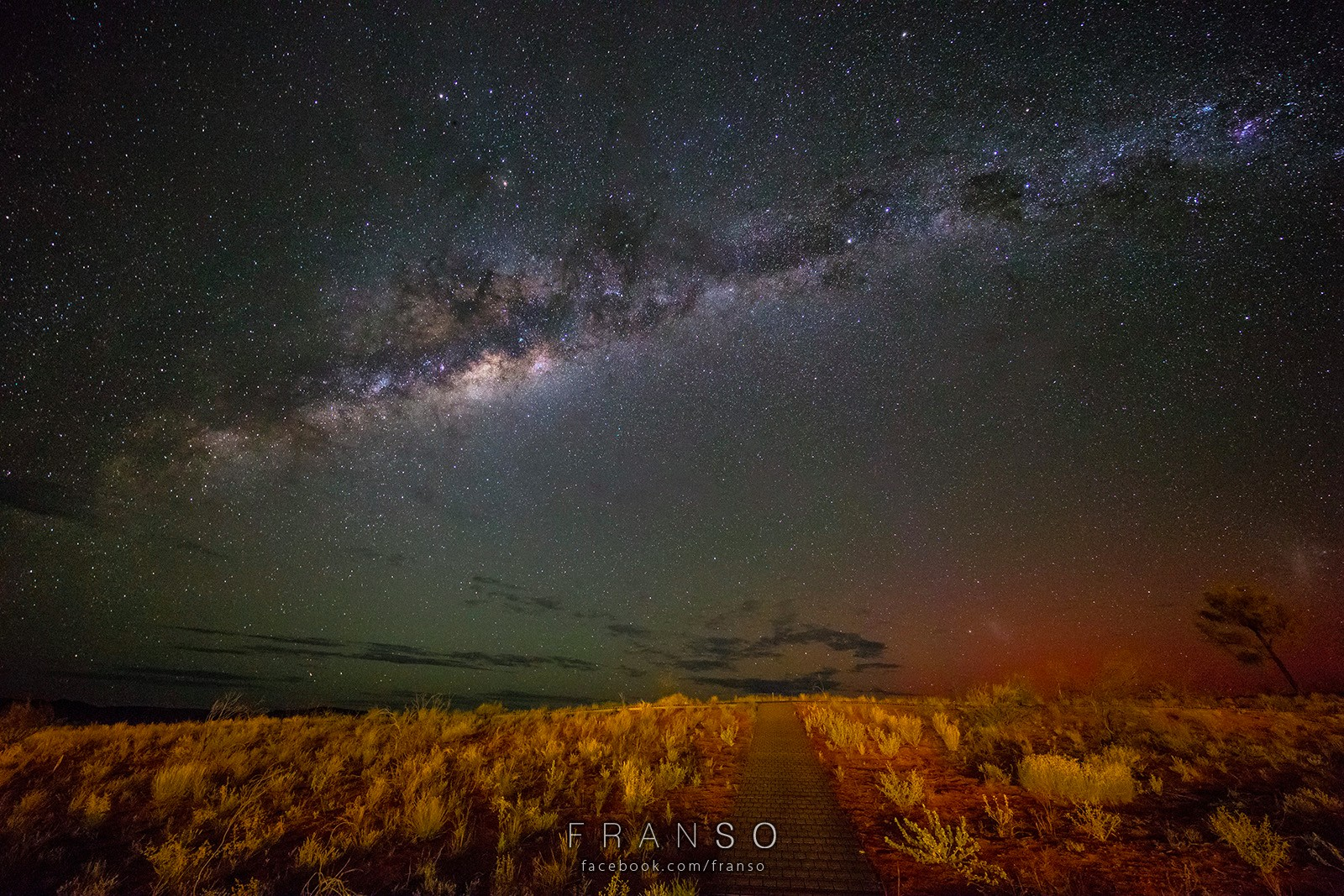 Starscape and Milkyway |  | Southern Star | Captured at Kings Canyon Resort, NT, Australia