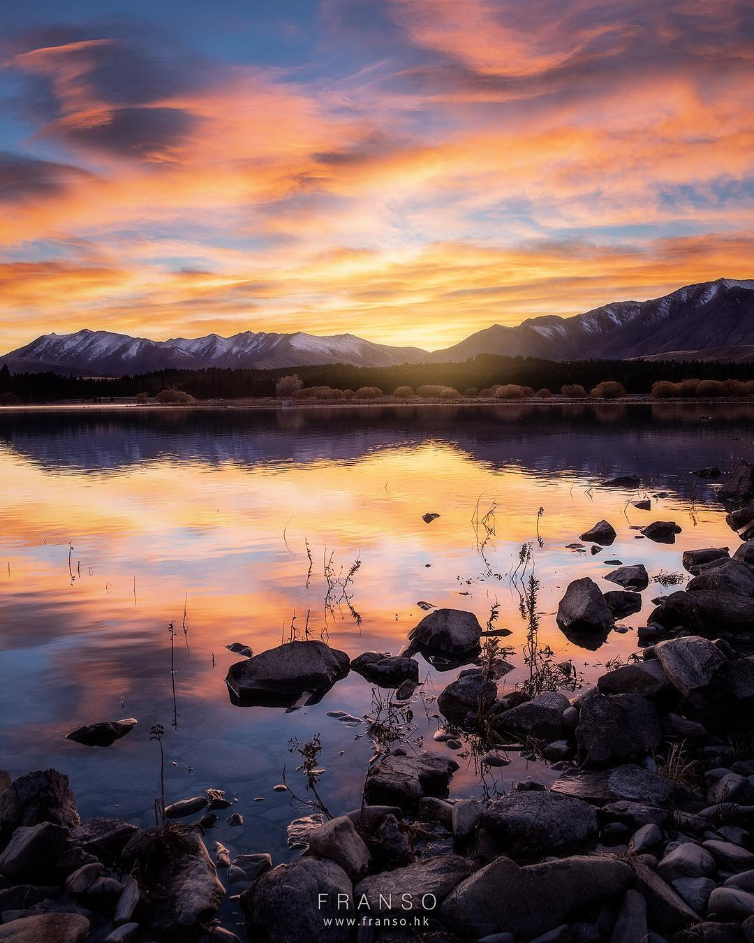 Landscape | Overseas | Sunrise at Lake Tekapo |