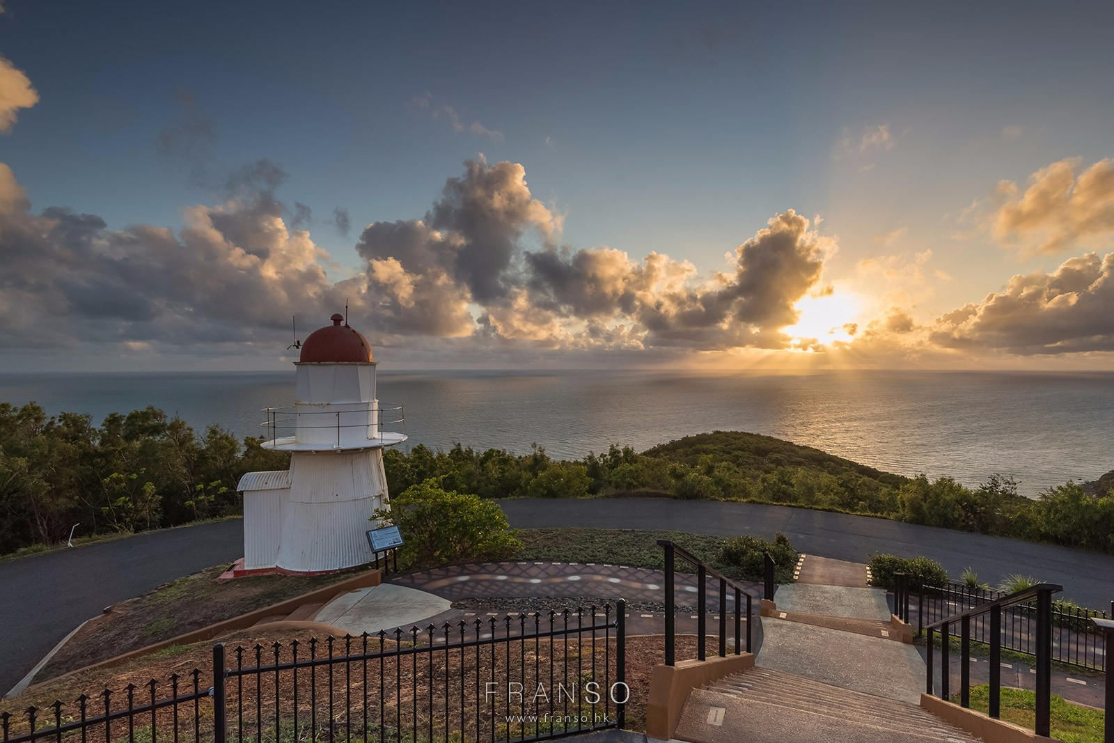 Landscape |  | Sunrise and the Lighthouse |