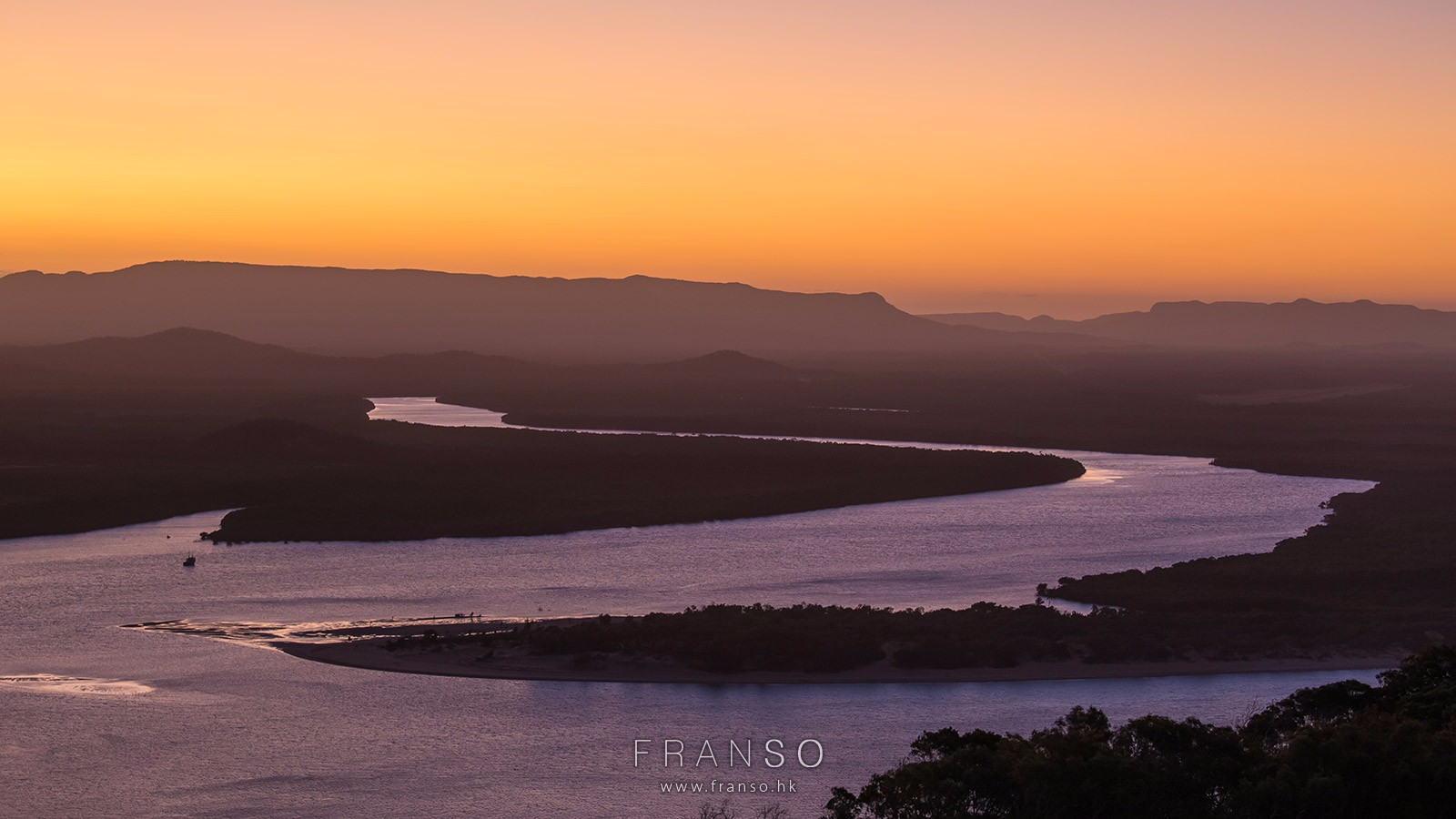 Landscape |  | Sunset at the bay | Cook town, Queensland, Australia