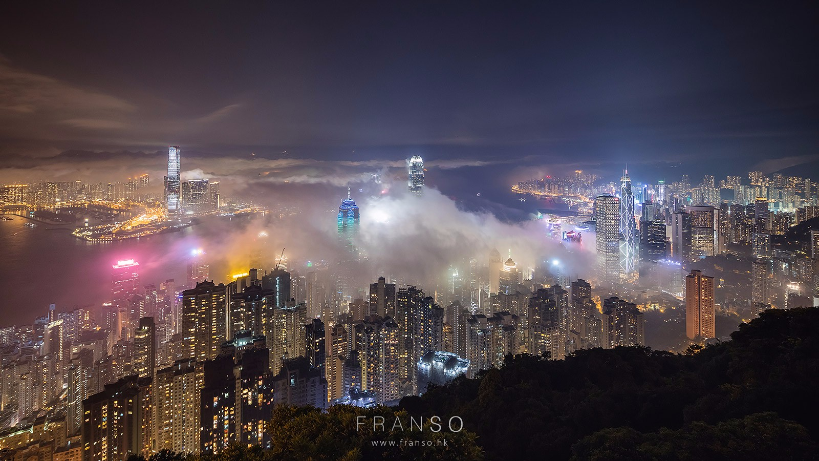 Cityscape | Hong Kong | Victoria in the mist  | Victoria Harbour, Hong Kong